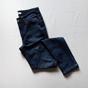KanCan Holly Lamsy Mid Rise Super Skinny Jean -EUC